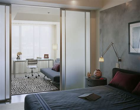 home office bedroom home office and bedroom modern bedroom boston by