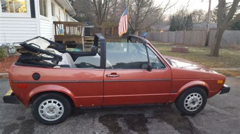 volkswagen rabbit convertible for sale 1981 volkswagon rabbit convertible for sale