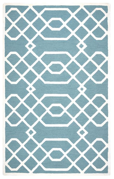 teal and white rug teal and white area rug artistic weavers pollack keely