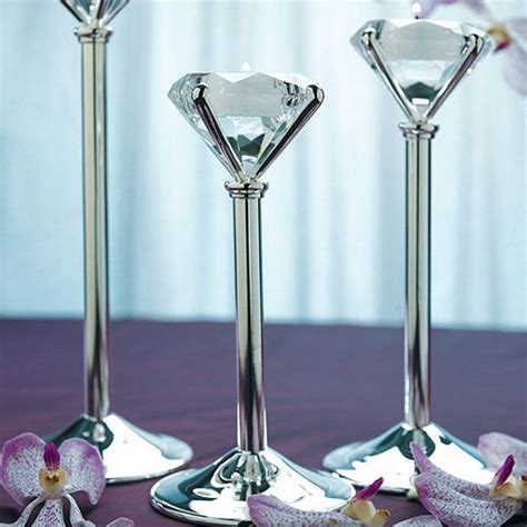 Candle Stand Decorations 3 Pc Shape Tealight Candle Holder Set