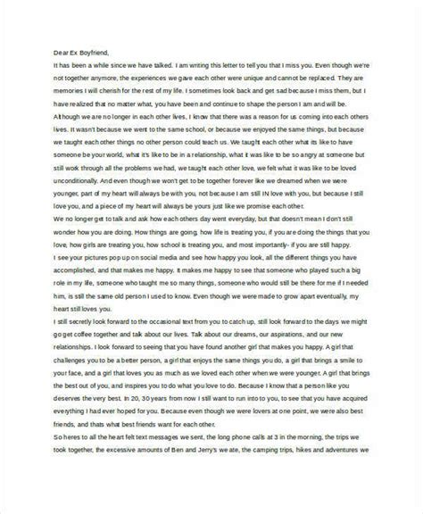 up letter to boyfriend in letter to boyfriend 9 free word documents