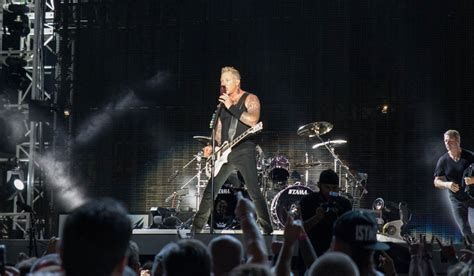metallica xylophone the perfect end to a birthday week metallica live review