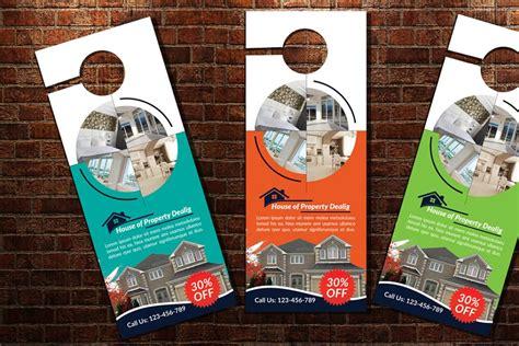 real estate door hanger examples templates