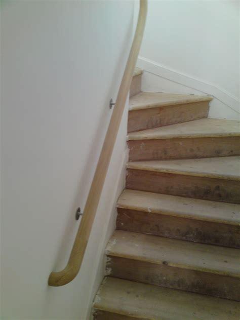 Return Stairs Design Timber Handrail Ornamental Ends Haldane Uk