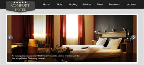 layout web hotel how to design an elegant hotel website in photoshop