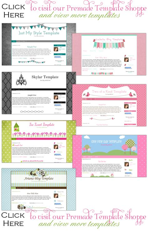premade blogger templates 20 00 collection part 1