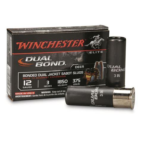 winchester supreme winchester supreme elite 12 3 quot slugs 375 grain