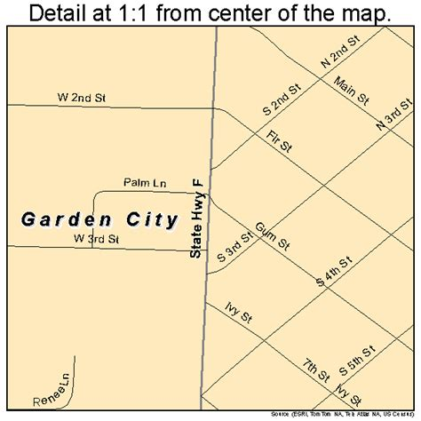 garden city missouri map 2926434