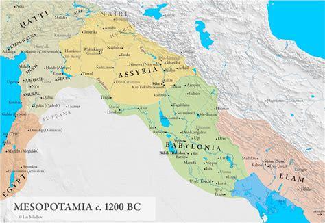 ancient middle east map mesopotamia history mesopotamia