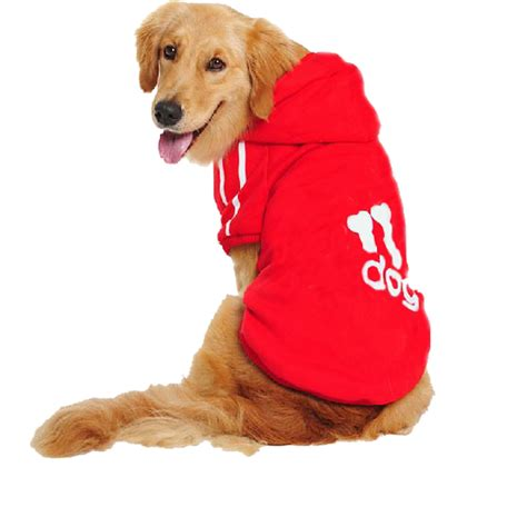 puppy plus free shipping large plus size pet big clothes warm autumn winter sport hoodie