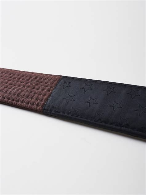 manto belt bjj premium brown bjj gear bjj belts top