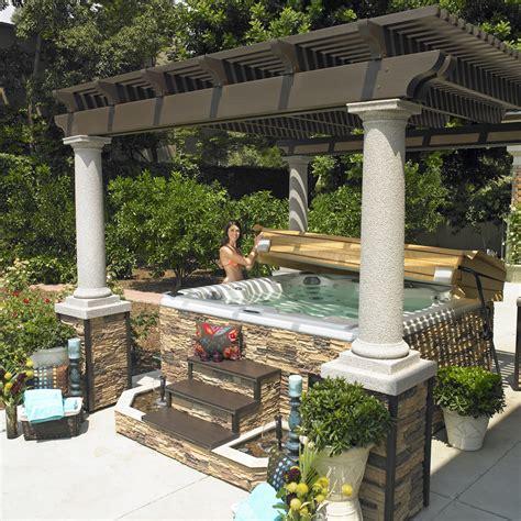 backyard spa cover cal spas tubs spas and swim spas for sale home