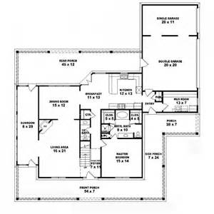 average square footage of a 5 bedroom house 653838 1 5 story 3 bedroom 3 5 bath country style