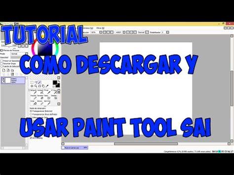 paint tool sai tutorial como usar tutorial l como descargar y usar paint tool sai cosas