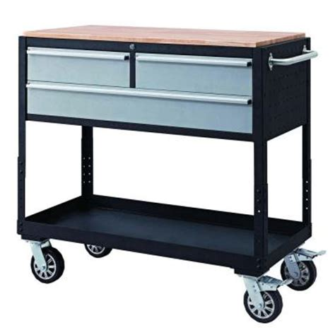 home work benches rolling work bench home depot now 99 00 bm only ymmv