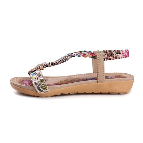 cheap white flat shoes cheap fashion metal decorated patchwork flat low
