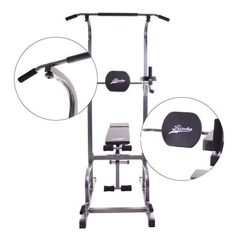 ejercicios en banco de musculacion torre de ejercicios con banco de musculaci 243 n