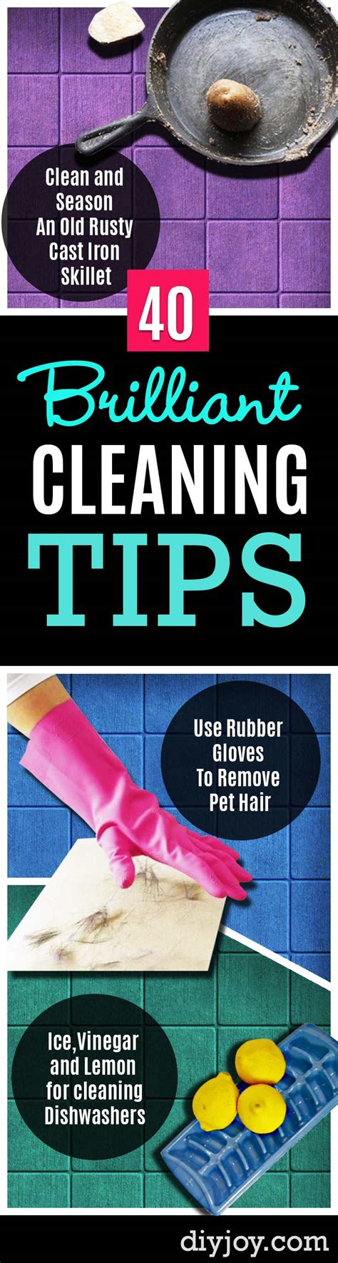 7 Tips To Keep Your House Sparkling Clean by 40 Brilliant Cleaning Tips To Keep Your Home Sparkling