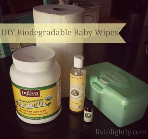 Handmade Baby Wipes - biodegradable baby wipes livin lightly