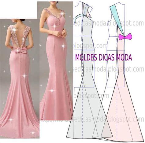 moldes vestidos de fiesta molde de vestido drapeado 178 moldes moda por medida