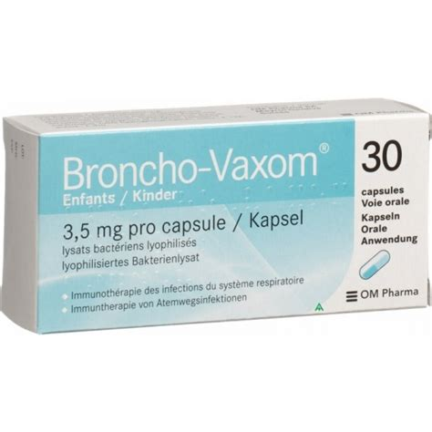 Broncho Vaxom For broncho vaxom 3 5 mg