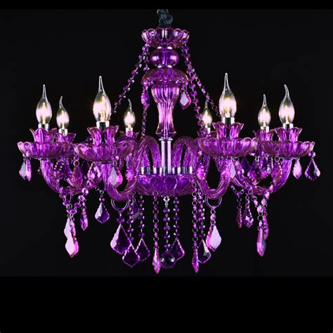 Purple Chandelier Lighting Lighting Ideas Purple Chandeliers