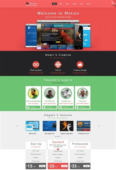 100 Free Photoshop Psd Website Templates Net Website Templates