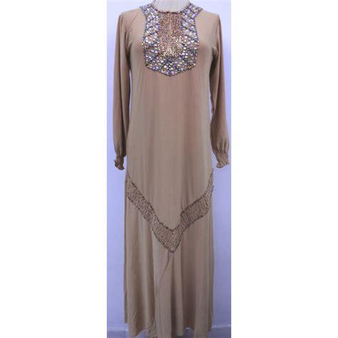 Maxi Kunara Satin Hitam Size L maxi dress azalea busanapenilan muslimah dengan