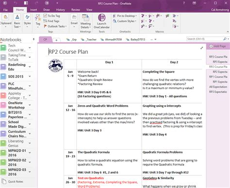templates for onenote 2016 five reasons to learn math with onenote