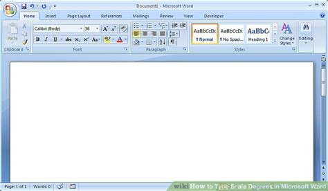 how to type scale degrees in microsoft word 7 steps
