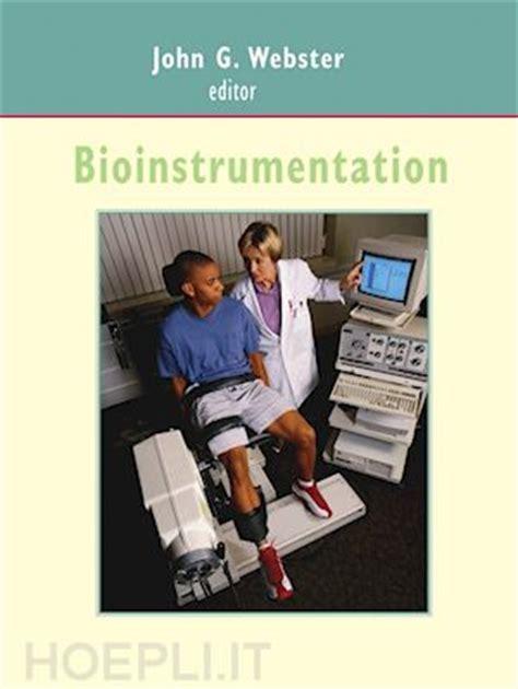 libreria webster bioinstrumentation webster g curatore