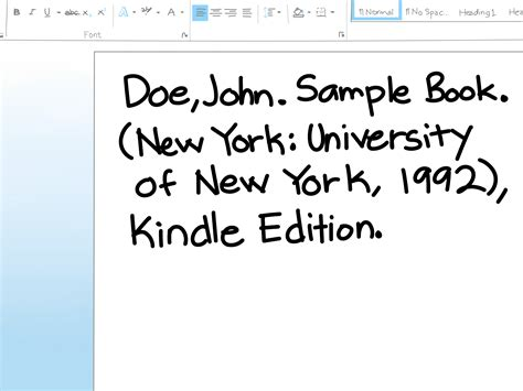 apa format kindle book 3 ways to cite a kindle ebook wikihow