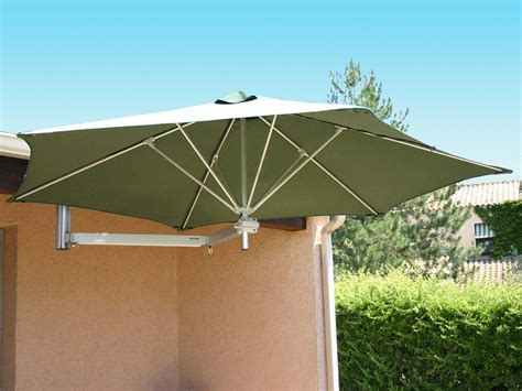 Patio Umbrella Mounts Luxury Umbrellas Paraflex Wallflex 9 Foot Push Lift Tilt