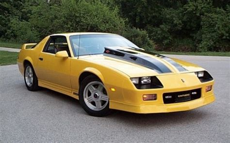 yellow camaros post pics of yellow camaros third generation f