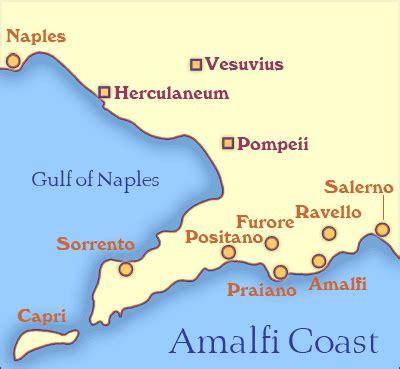 map of amalfi coast positano amalfi and ravello amalfi coast day tours sorrento and pompeii guide tours