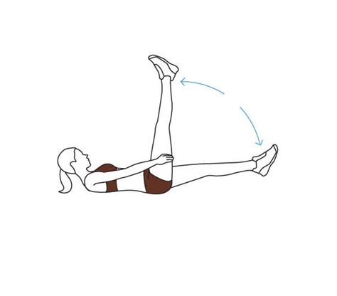 move 4 scissors lower abdominal exercises real simple