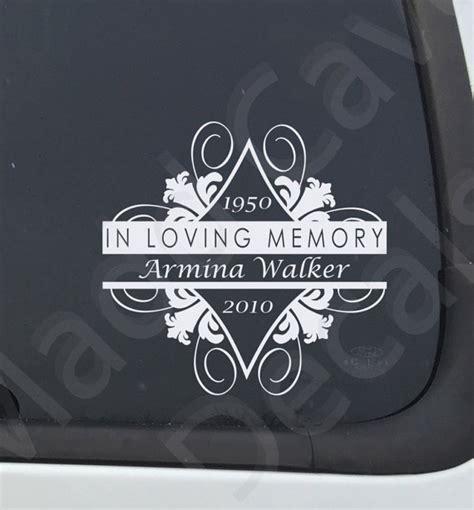 Memorial Stickers