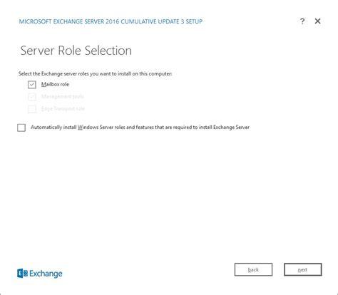 install exchange  cu    windows