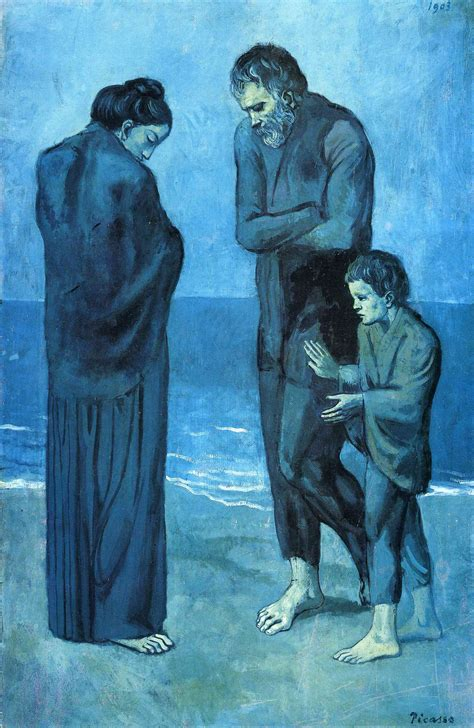 picasso paintings blue pablo picasso s blue period 1901 1904
