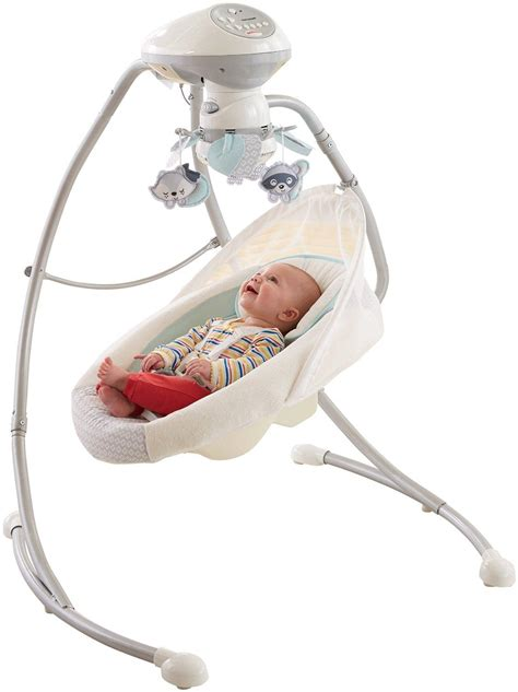 infant swing fisher price moonlight meadow cradle n swing