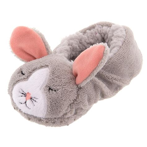 toddler bunny slippers gertex toddler gray bunny soft slippers