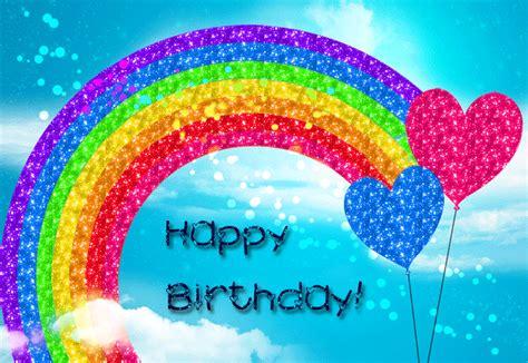 imagenes feliz cumpleaños iris arco iris de cumplea 241 os mandarsaludos com