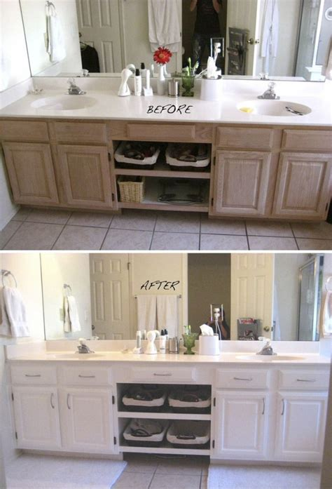 paint kitchen cabinets before and after memes transformer un meuble avec de la peinture faites le vous