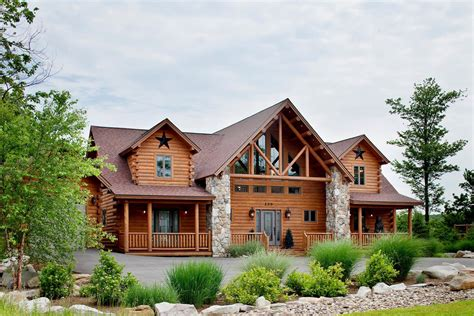 cedar log home plans lakeview cedar log home floor plan katahdin house plans
