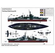 USS Colorado BB 45 1944 05768 1/700 Series TRUMPETER(china)