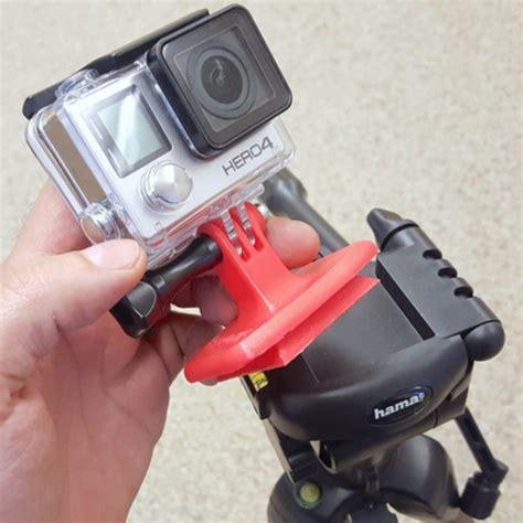 free 3d file gopro tripod quick release plate mount
