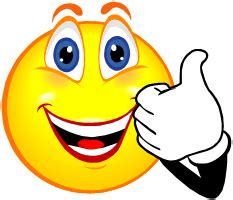 smiley with a thumb clipart best
