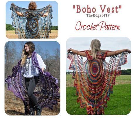 stevie nicks bohemian vest crochet pattern bohemian vest crochet pattern sleeveless boho style