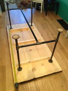 Industrial Pipe Table Legs Pipe Amp Wood Table V2 Storefront Life