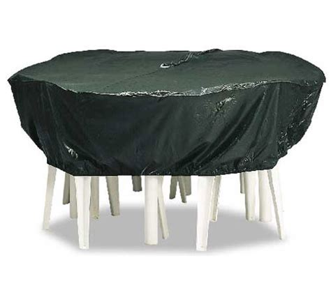 Large Patio Furniture Cover by Reversible Large Vinyl Table Cover In Patio